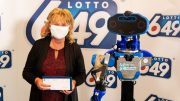 Robot delivers $6-million cheque to Quebec lottery winner amid pandemic 5