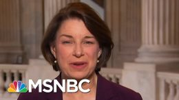 Sen. Klobuchar: Trump Is 'Belittling The Science' And People Are 'Seeing Through It' | MSNBC 6