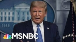 Trump Tries To Link COVID-19 Surge To Black Lives Matter Protests | The 11th Hour | MSNBC 3