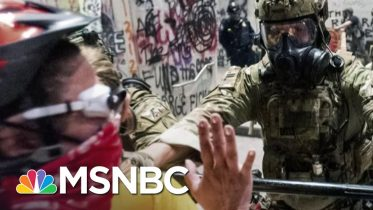 Schmidt: Trump's Portland Crackdown Is Frightening Federal Thuggery | The 11th Hour | MSNBC 6