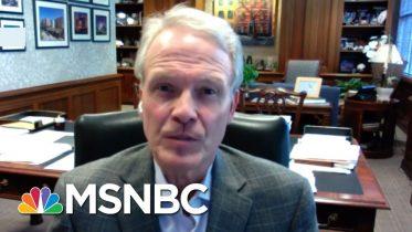 President Of Houston Methodist Hospital On Mask Order: I Applaud The Decision | MTP Daily | MSNBC 10
