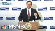 79% In Florida Favor Masks, New Poll Reveals | Katy Tur | MSNBC 2