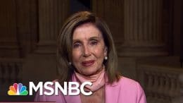 Pelosi Announces Late Rep. John Lewis To Lie In State At Capitol On Monday | The ReidOut | MSNBC 2