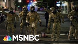 Justice Dept. IG Probing Trump's Portland And DC Crackdowns | The 11th Hour | MSNBC 1