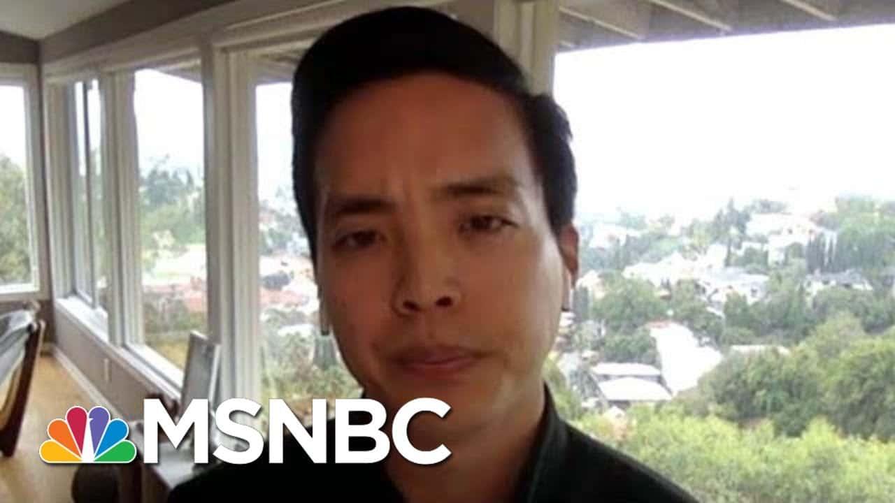 Alan Yang On Anti-Asian Bias: We're All 'Fighting The Same Common Enemy' | Hallie Jackson | MSNBC 1