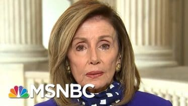 Pelosi: Republicans Are 'Missing In Action' On Coronavirus Relief | Andrea Mitchell | MSNBC 6