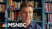 Colin Jost On His Hopes For SNL's Safe Return To Normal And His New Memoir   Andrea Mitchell   MSNBC 2