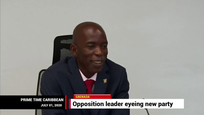 Grenada opposition lead planning political party 1