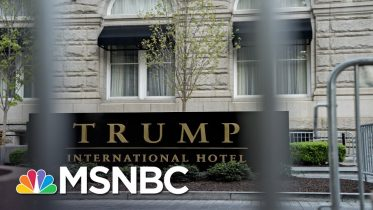 Fahrenthold: Trump Is Trademarking 'Telerally' To Pump Money Into Private Business | All In | MSNBC 1
