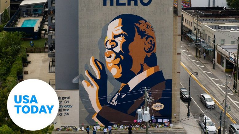 U.S. House Democratic Caucus reflect on John Lewis and his legacy   USA TODAY 1