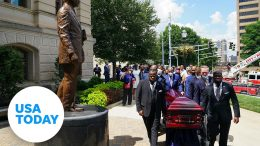 Funeral service for Civil Rights icon C.T. Vivian held today | USA TODAY 9