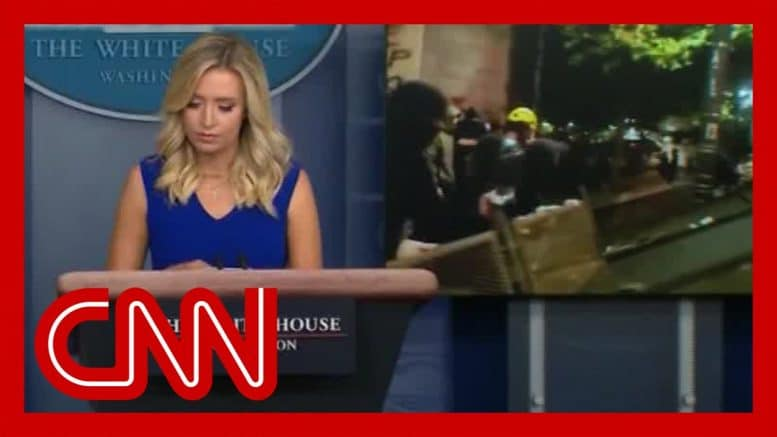 See why Fox News cut away from White House briefing 1