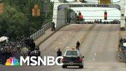 Rep. John Lewis' Casket Travels Across The Historic Edmund Pettus Bridge One Last Time | MSNBC 5