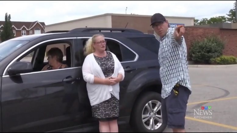 Bystanders stop moving car after driver has seizure near drive-thru 1