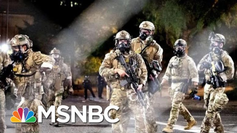 Trump Administration's Role In This Weekend's Violent Protests | Morning Joe | MSNBC 1