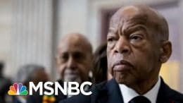 John Lewis Took The Words & Made Them Deeds, & Did It With His Body And Soul | Craig Melvin | MSNBC 9