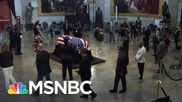 Trump Says He Won't Visit John Lewis Lying In State In U.S. Capitol | MSNBC 1