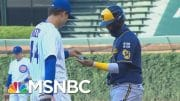 Hayes On Baseball's COVID-19 Crisis: You Can't Play Catch In The Middle Of A Fire | All In | MSNBC 3
