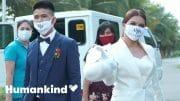 Newlyweds spend wedding money on healthcare heroes | Humankind 4
