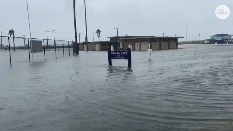 Hurricane Hanna makes landfall, floods parts of south Texas | USA TODAY 1