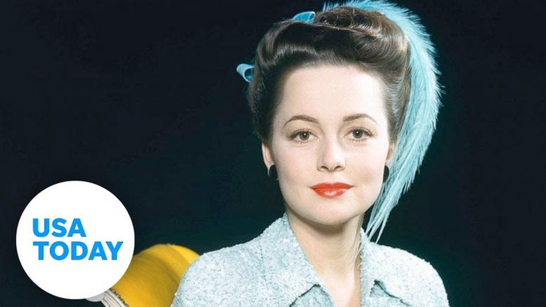"""Gone with the Wind"" star Olivia de Havilland dies 