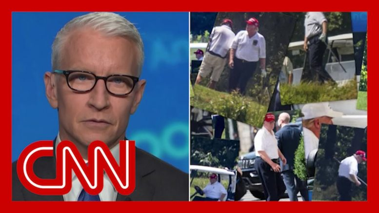 Anderson Cooper calls out Trump for golfing while virus surges 1