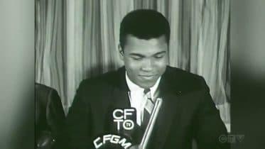 CTV News Archive: George Chuvalo interrupts Muhammad Ali's press conference 6