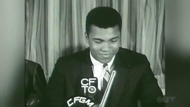 CTV News Archive: George Chuvalo interrupts Muhammad Ali's press conference 1