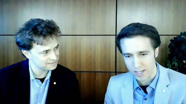 Craig and Marc Kielburger testify before the House Finance Committee over Student Grant Program 6