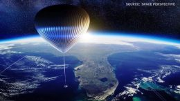 You may soon be able to travel to the edge of space aboard high-tech hot air balloon 5
