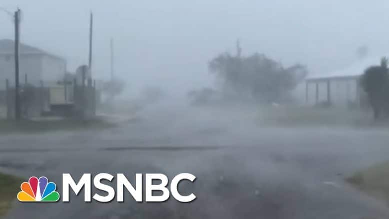 Hurricane Makes Disaster Of Already Catastrophic COVID Situation | Rachel Maddow | MSNBC 1