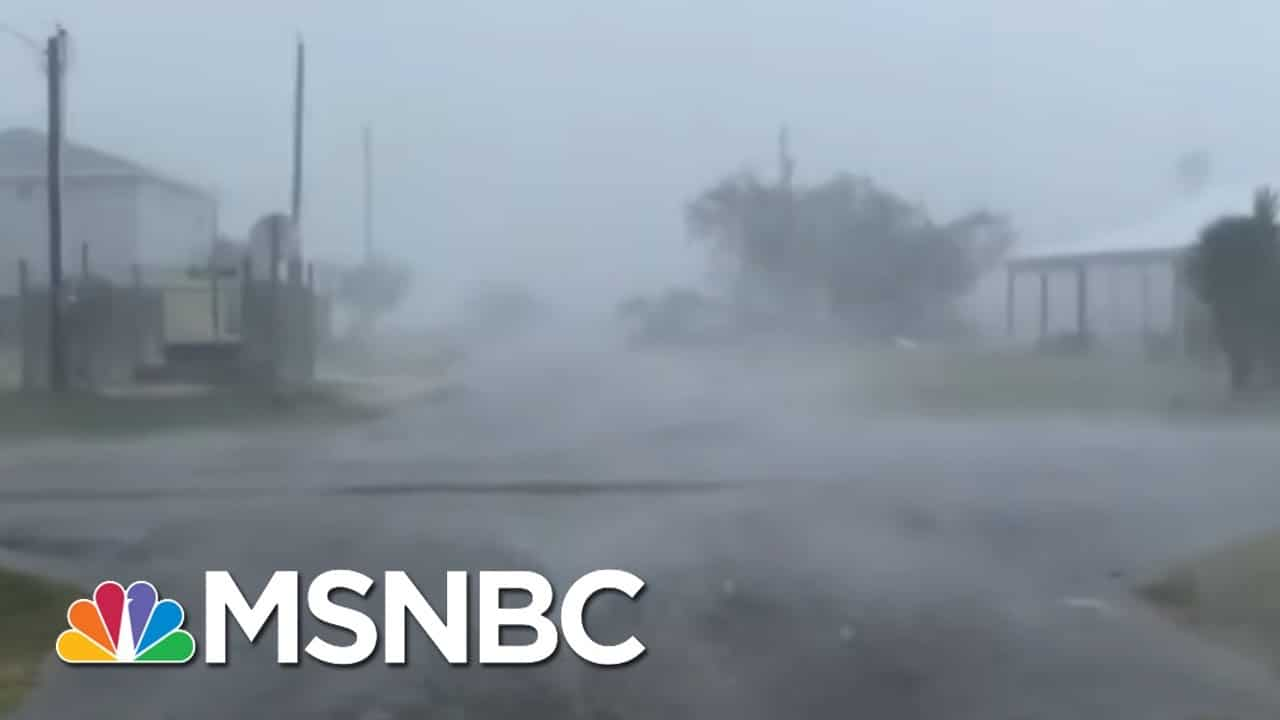 Hurricane Makes Disaster Of Already Catastrophic COVID Situation | Rachel Maddow | MSNBC 9