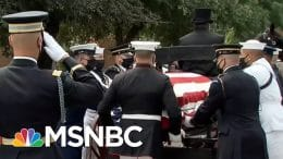 'Never, Ever Give Up Or Give In': Remembering John Lewis As His Words Echo In The Capitol | MSNBC 6