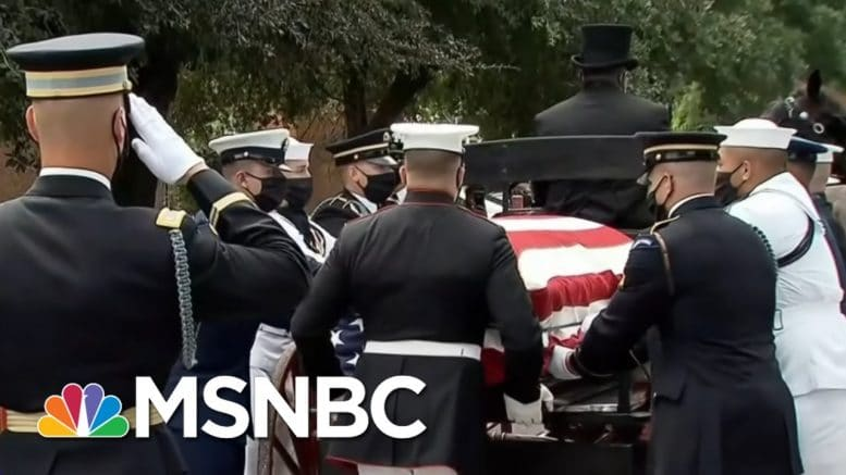'Never, Ever Give Up Or Give In': Remembering John Lewis As His Words Echo In The Capitol | MSNBC 1