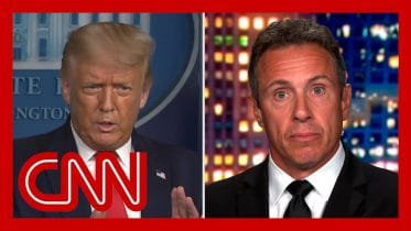 Chris Cuomo reacts to Trump comment 'nobody likes me' 6