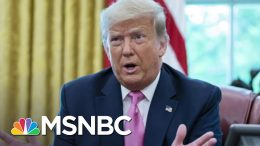 Fmr. CIA Director: Pres. Trump Won't Do Anything About Russian Interference   The Last Word   MSNBC 1