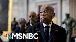 Rep. John Lewis makes Final Trip To U.S. Capitol | Morning Joe | MSNBC 9
