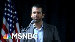 Twitter Suspends Account Of Donald Trump, Jr. For Violating Rules | Hallie Jackson | MSNBC 4