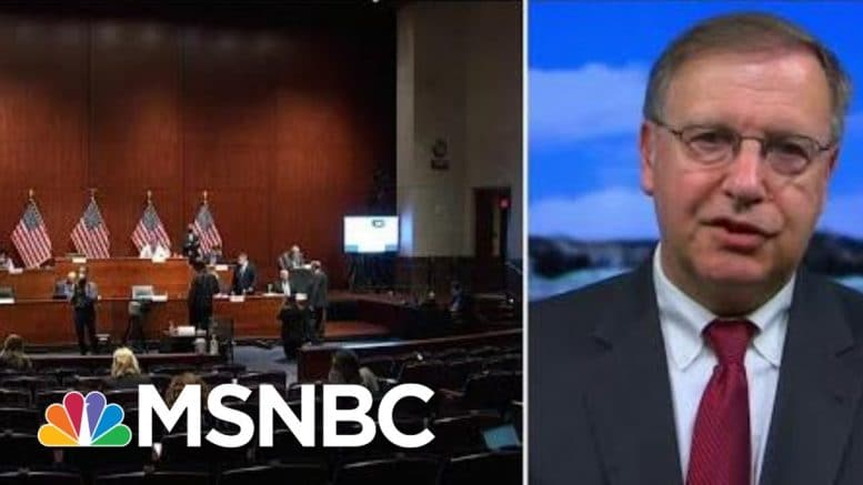 Chuck Rosenberg: I Would Want More Than My Five Minutes To Question AG Barr | Hallie Jackson | MSNBC 1
