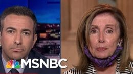 'Despicable': Pelosi Hits Trump AG Barr, Condemns Some Agents Acting Like 'Stormtroopers' | MSNBC 5