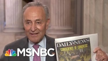Chuck Schumer Calls GOP Coronavirus Rescue Plan A 'Corporate Lawyer Wish List' | All In | MSNBC 3
