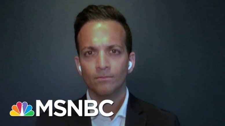 Dr. Vin Gupta: Trump 'Trying To Save Face, Not Trying To Save Patients' | The Last Word | MSNBC 1