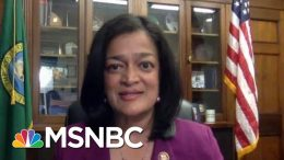 Rep. Jayapal: Bill Barr Is The Personal Henchman For Donald Trump | Rachel Maddow | MSNBC 3