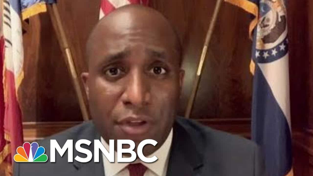 Federal Encroachment On Local Police Raises Mission Creep Concern | Rachel Maddow | MSNBC 1