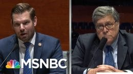 Barr, Confronted On Roger Stone Commutation, Offers Pallid Answer | Rachel Maddow | MSNBC 3