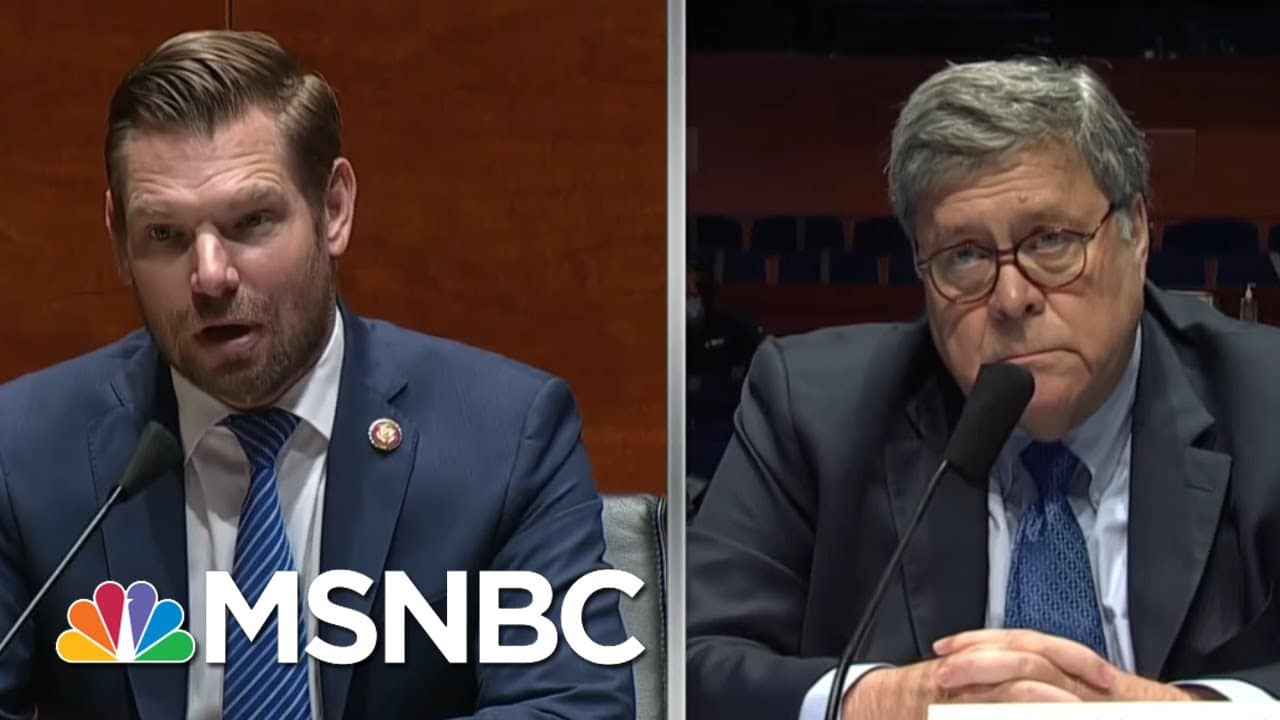 Barr, Confronted On Roger Stone Commutation, Offers Pallid Answer | Rachel Maddow | MSNBC 8