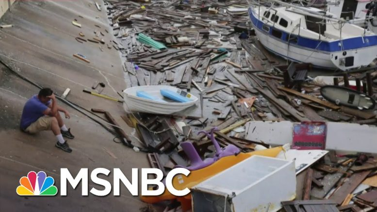 Coastal Texas Hit By A Hurricane While Dealing With COVID-19 | The 11th Hour | MSNBC 1