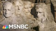Julian Bear Runner: Trump Doesn't Have Permission To Visit Mount Rushmore | The Last Word | MSNBC 2