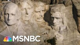 Julian Bear Runner: Trump Doesn't Have Permission To Visit Mount Rushmore | The Last Word | MSNBC 1