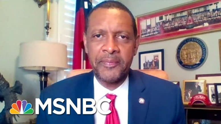 Watch: Craig Melvin Fires Back At Georgia Democrat Who Supports Trump   Craig Melvin   MSNBC 1